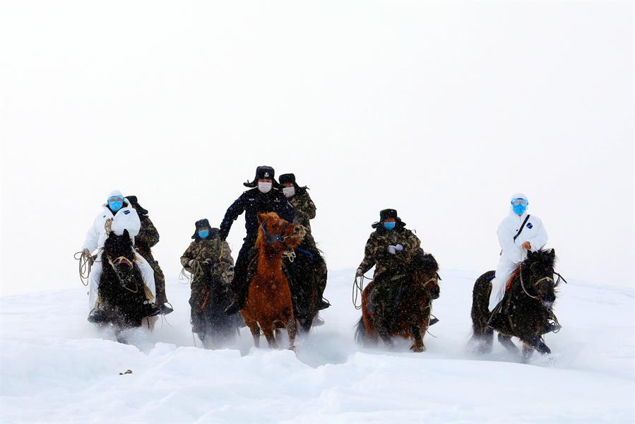 Fotografía y fe: Los caballos del coronavirus